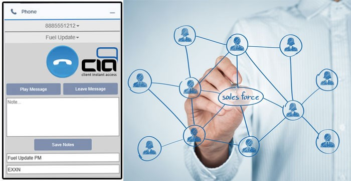 Using CIA's Integrated CRM Dialer With Salesforce