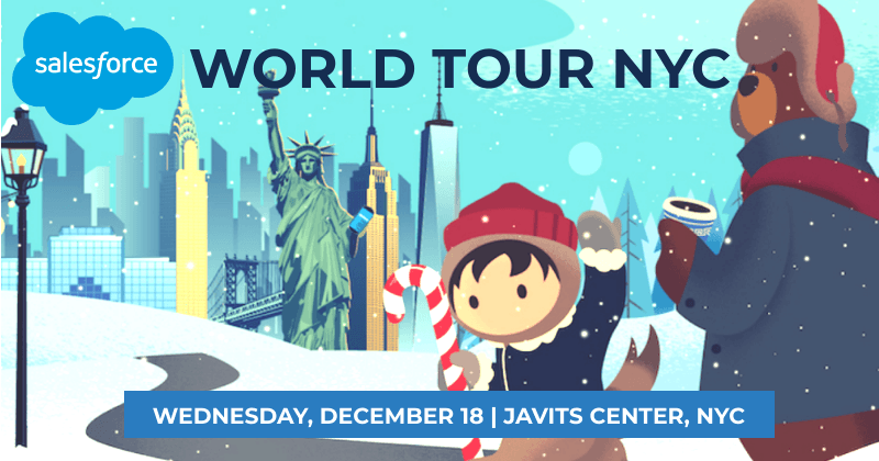 Client Instant Access To Attend Salesforce World Tour New York 2019