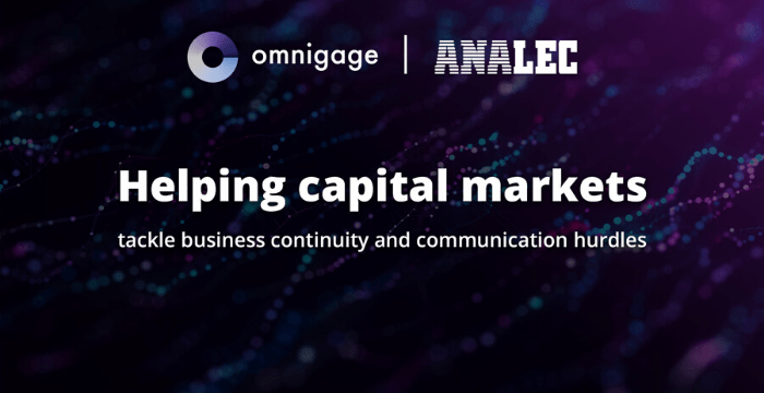 Omnigage and Analec Team to Streamline Customer Engagement During Covid-19