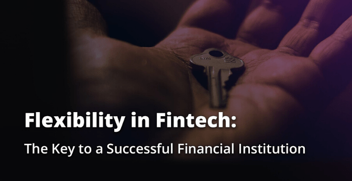 Communications and Fintech – Part 1: Flexibility at the Core