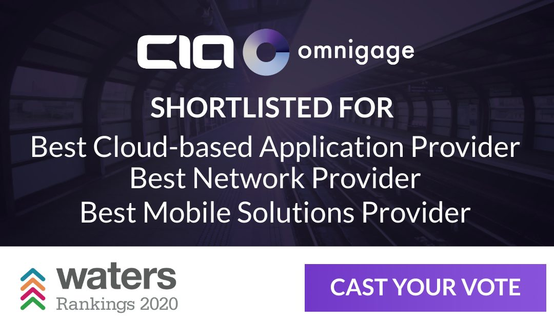 Client Instant Access Shortlisted Three Times in Waters Rankings 2020