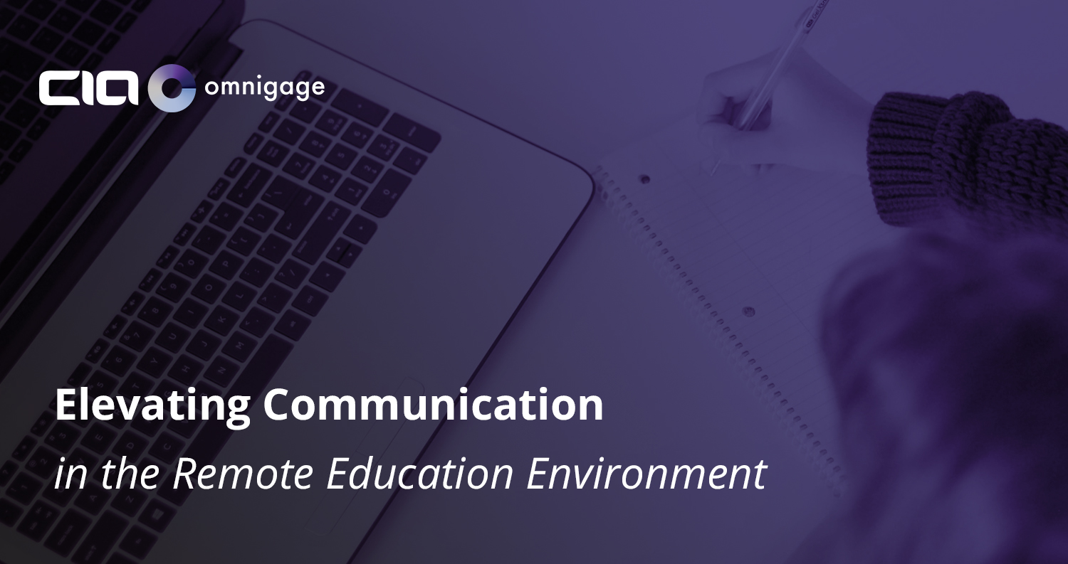 Elevating Communication in the Remote Education Environment