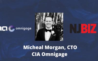 NJBIZ: Micheal Morgan Recognized as 2021 Digi-Tech Innovator Award honoree