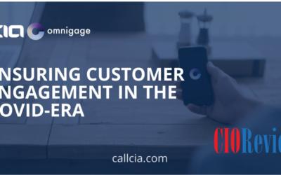 CIO Review Magazine – Ensuring Customer Engagement in the Covid-era